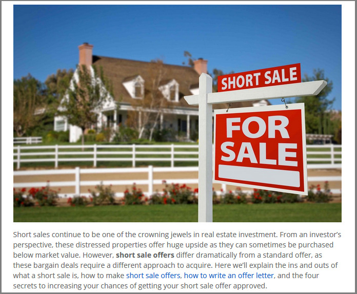 Dc Fawcett Reviews short sale