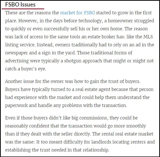 DC Fawcett Real Estate FSBO