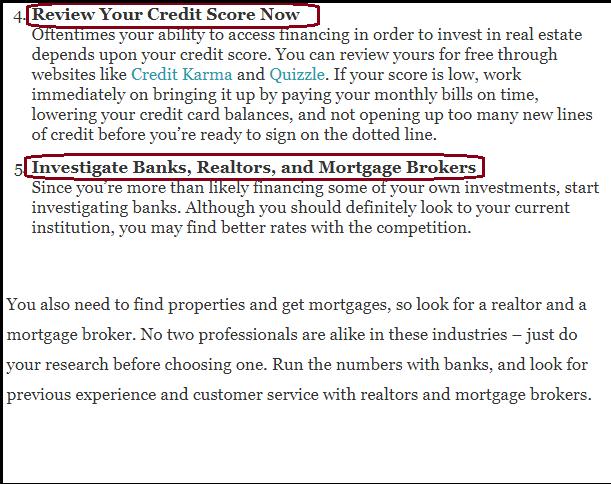 DC Fawcett Real Estate tips for Real Estate Starters